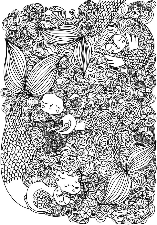 Siete pronti a colorare vi sfido con questo disegno - Immagini di colorare le pagine del libro da colorare ...