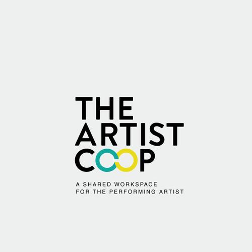 The Artist Co Op Create An Inspiring Brand For The Artist Co Op The Next Big Idea Since Wework I Am Crea Logo Design Logo Design Contest Performance Artist