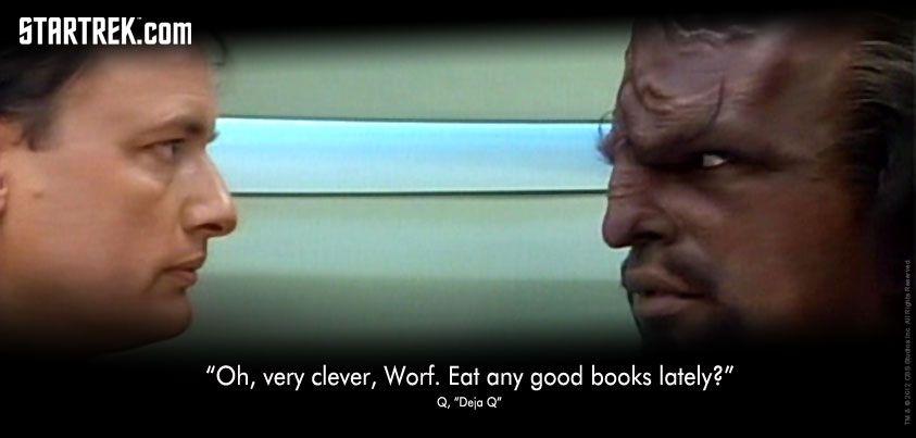 """Q, """"Deja Q"""" from Star Trek: The Next Generation"""