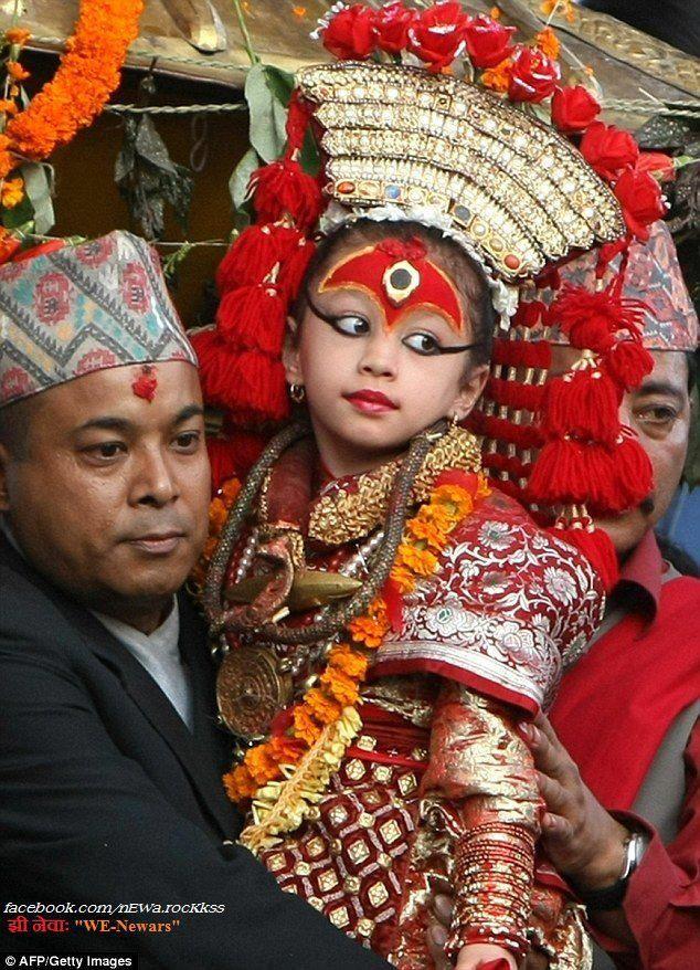 7792fdf58 KUMARI #living #goddess of #nepal | Nepal | Nepal kathmandu, Nepal ...