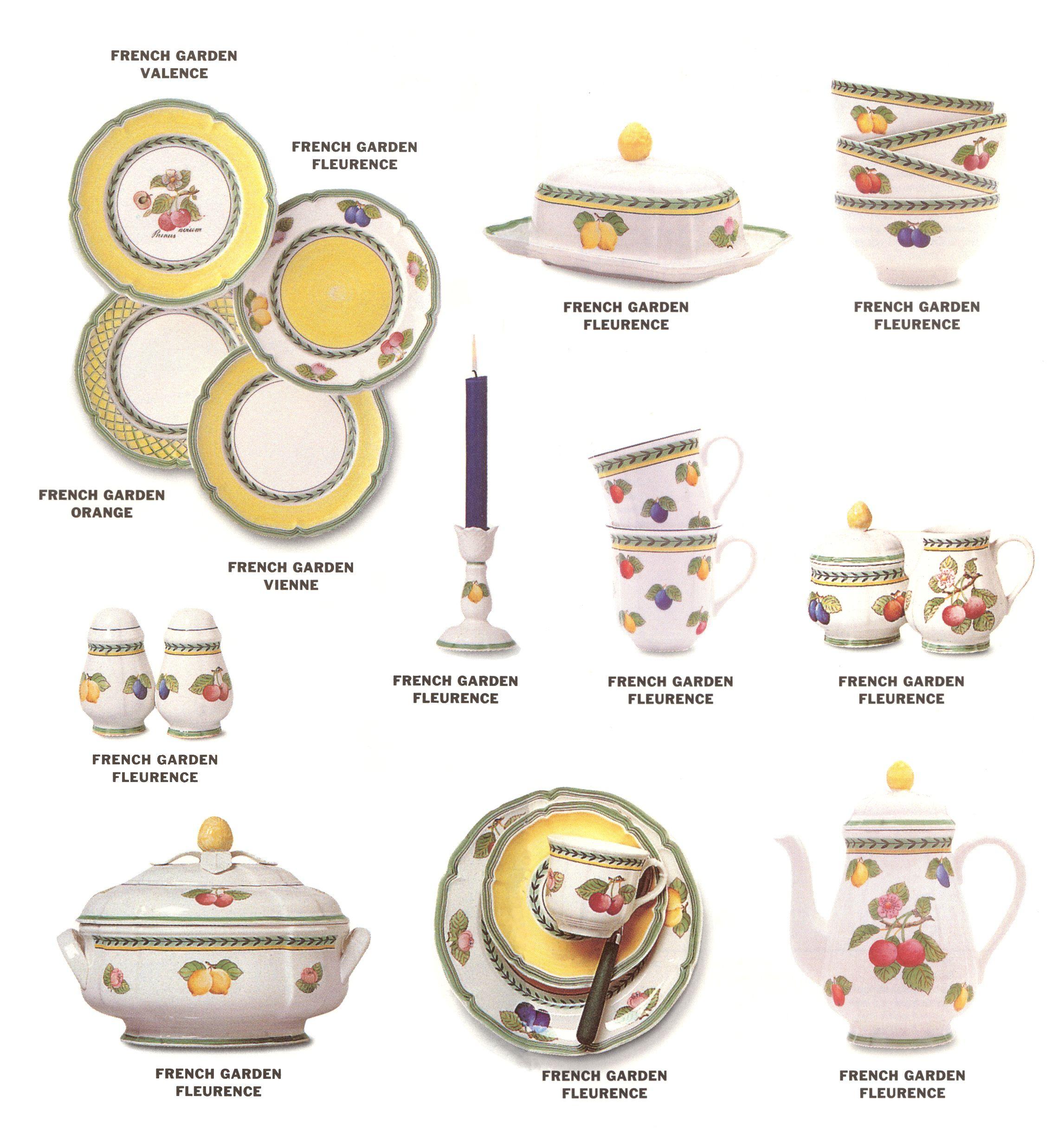 Villeroy Boch French Garden Dinnerware China Patterns