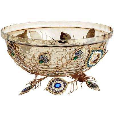 Peacock Jeweled Decorative Bowl Pier 40 Imports Vases And Bowls Fascinating Pier 1 Decorative Bowls