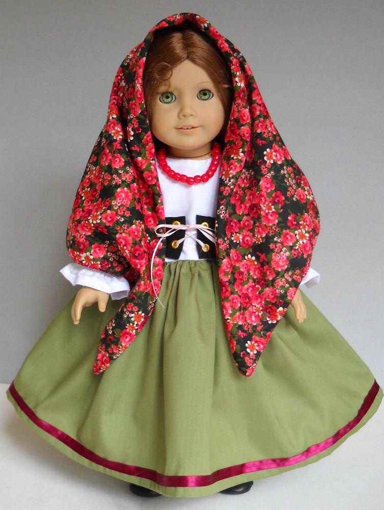 "Italian Children Clothing Fits 18"" American..."
