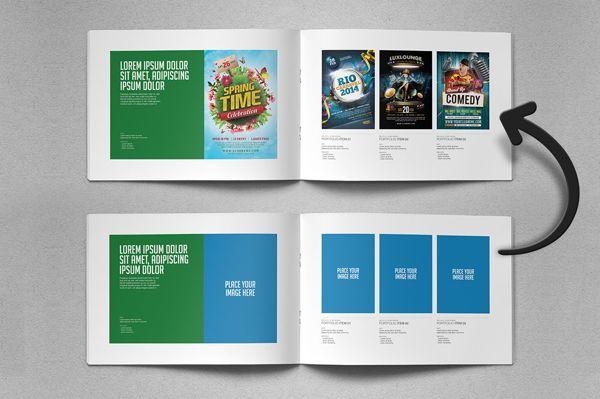 Portfolio Brochure Template Vol01 by Easybrandz , via Behance - fashion design brochure template