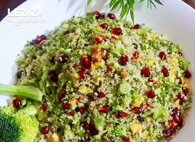 Bulgurlu Brokoli Salatası (Gün Sunumlarınıza Yakışacak Bir Lezzet)