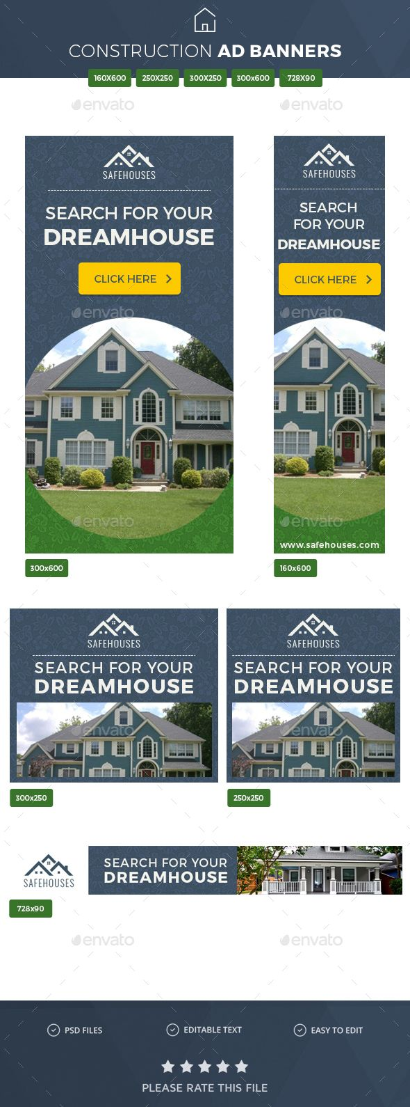 real estate ad banners