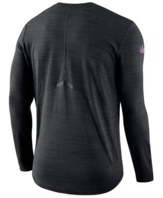 0add63944 Nike Men s New Orleans Saints Player Top Long Sleeve T-Shirt - Black ...