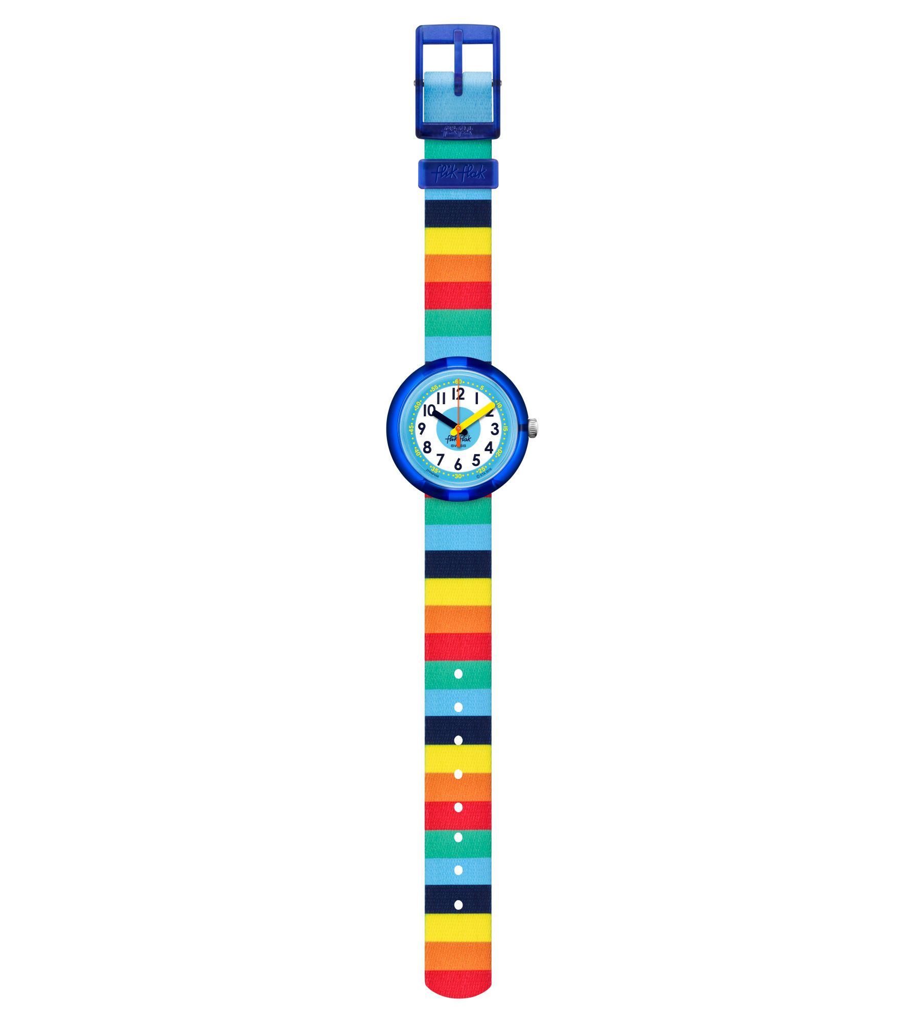 Swatch France Flik Flak Power Time Stripybow Fpnp056