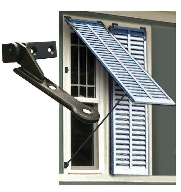 Bermuda Shutter Hinge Pair #shutters #windows