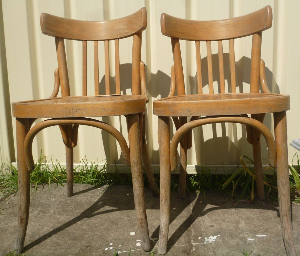 Two Bentwood Chairs Bentwood Chairs Chair Home Decor
