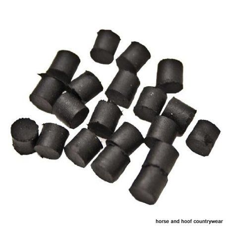 Liveryman Stud Plugs Rubber For packing out stud holes when not in use 20 are in a pack.