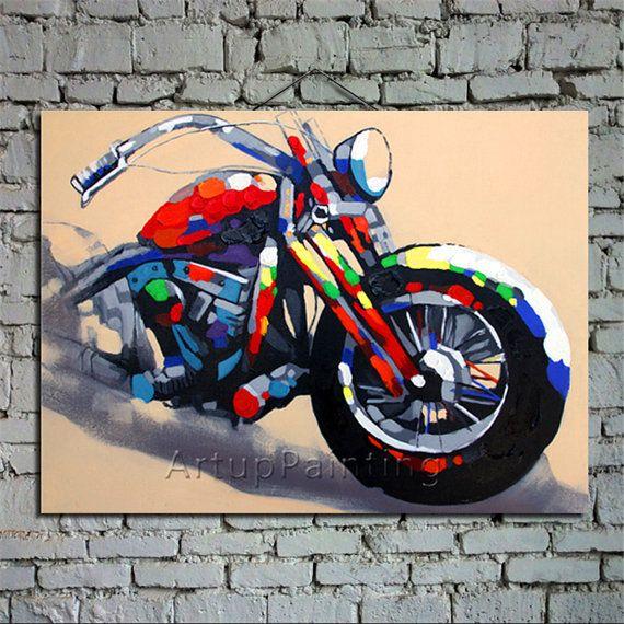 Aludibond Mural Honda Fireblade Art Print Abstract Picture Poster Motorcycle