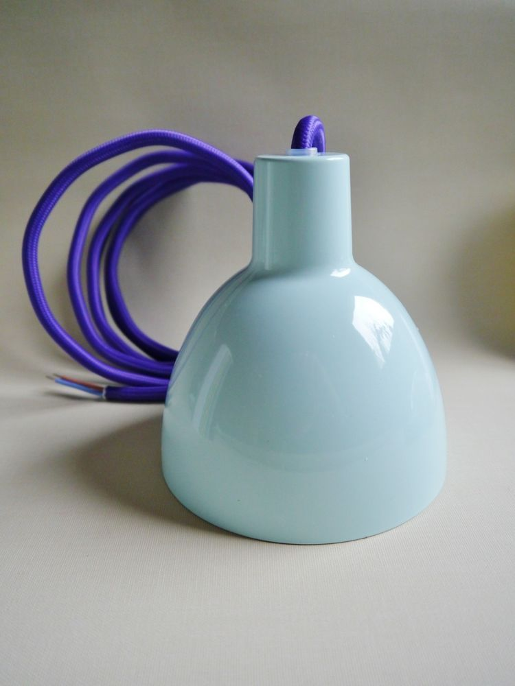 Louis Poulsen Toldbod 120 Colour Pendelleuchte Misty Blue Pendelleuchte Lampen