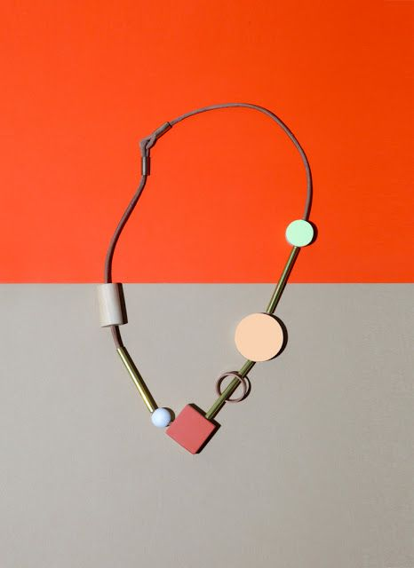 block necklace by ladies and gentlemen studio