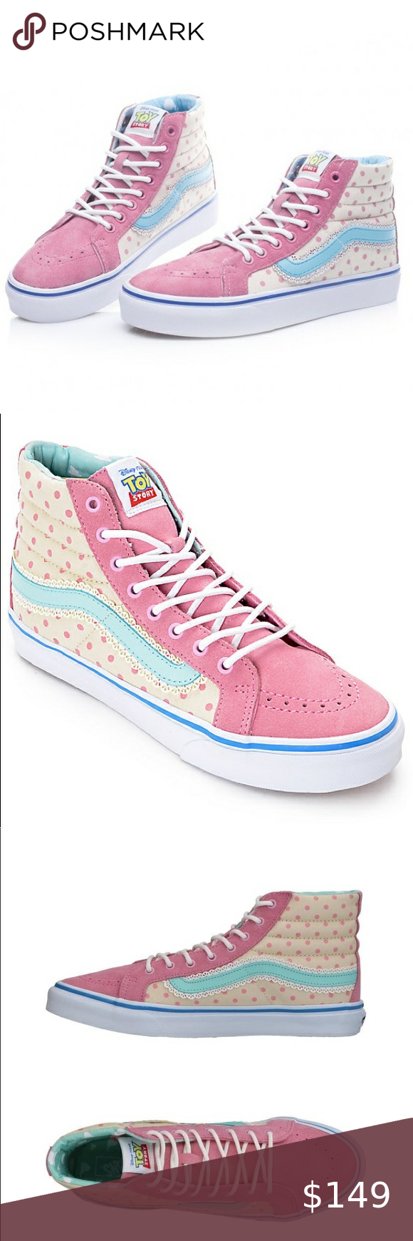 Limited Edition Toy Story Bo Peep Vans