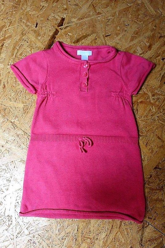 31445af533d2b Robe manches courtes Obaïbi pour bébé fille de 6 mois