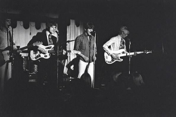 The Move onstage at the Marquee Club during their residency, 1966.