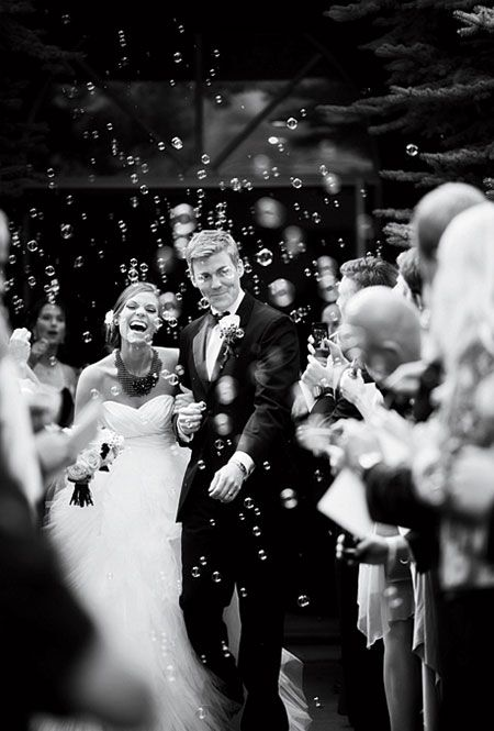 Creative Ideas For Your Wedding Ceremony Send Off Bubbles At WeddingFun Reception