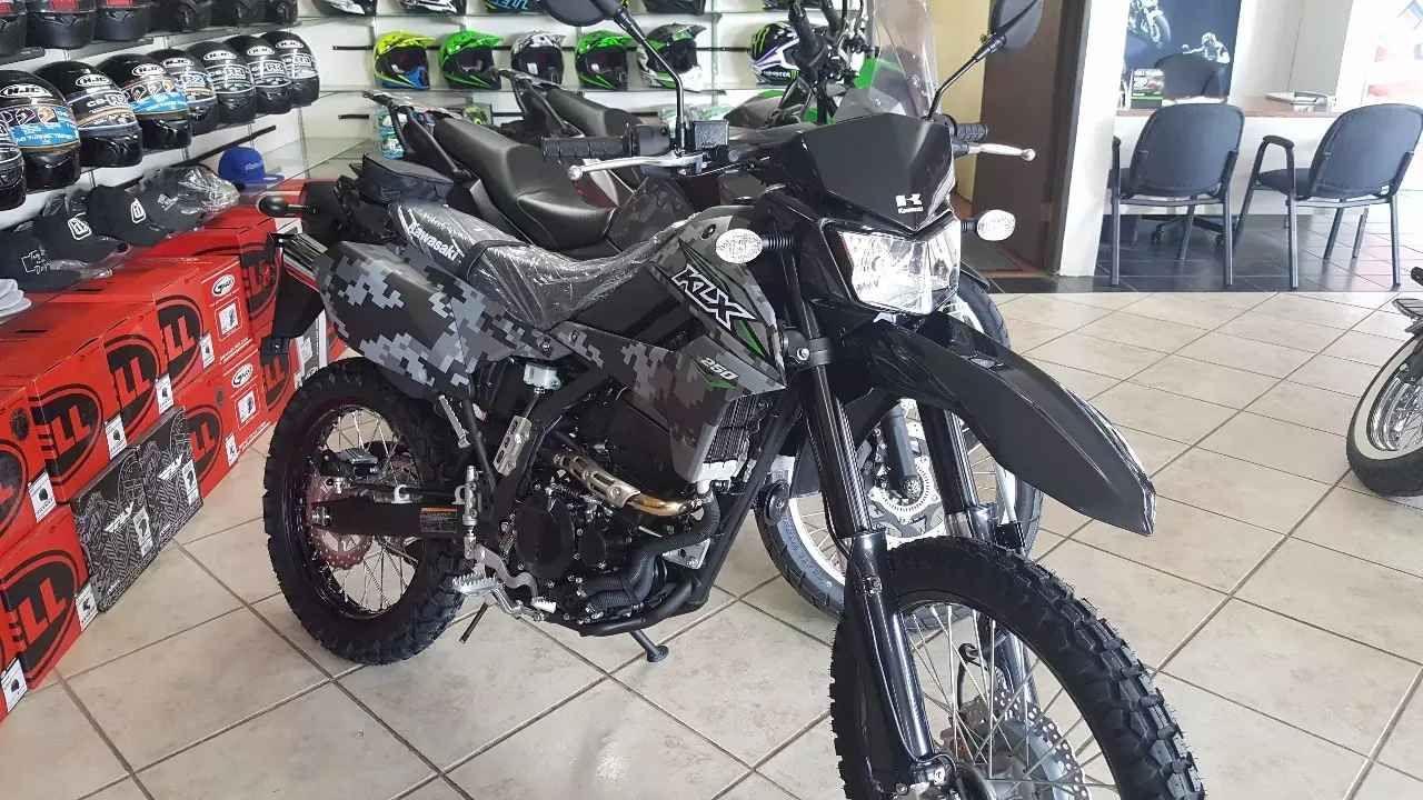 2018 Kawasaki KLX 250S Kawasaki motorcycles, Kawasaki, Bike