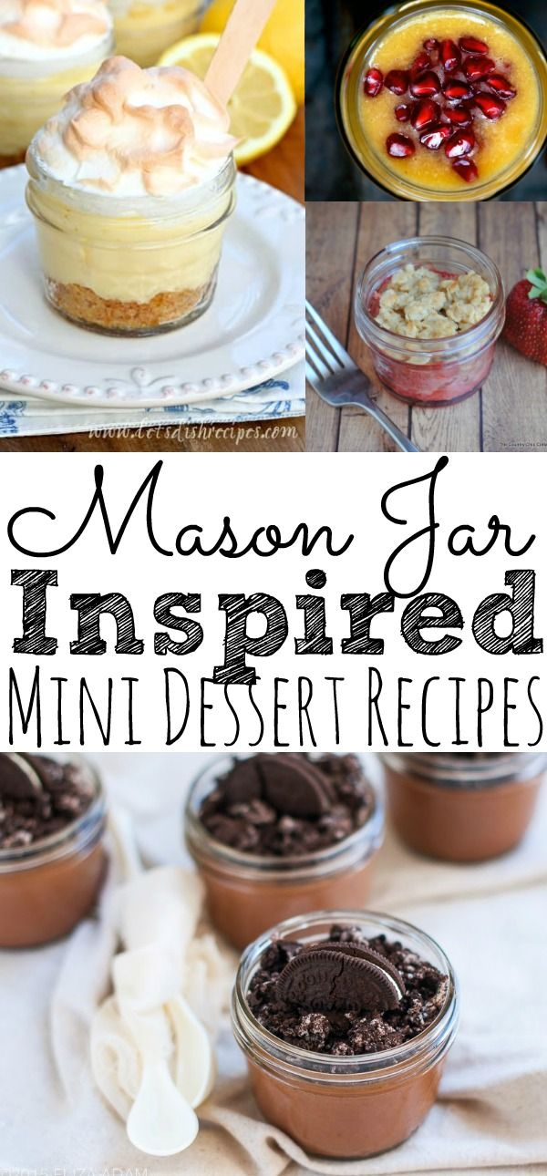 The Most Delicious 25 Mason Jar Dessert Recipes
