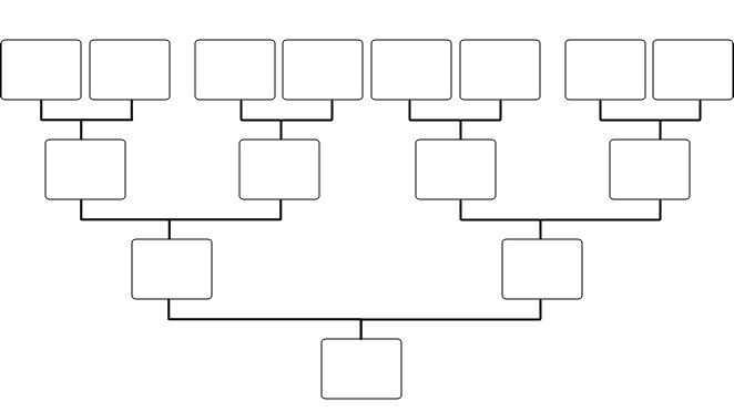 El Arbol De Familia Family Tree Template Word Blank