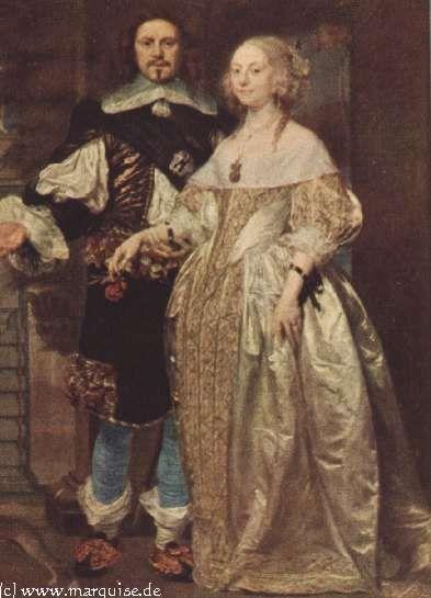 Noble Couple by A. van den Tempel (1670s?)