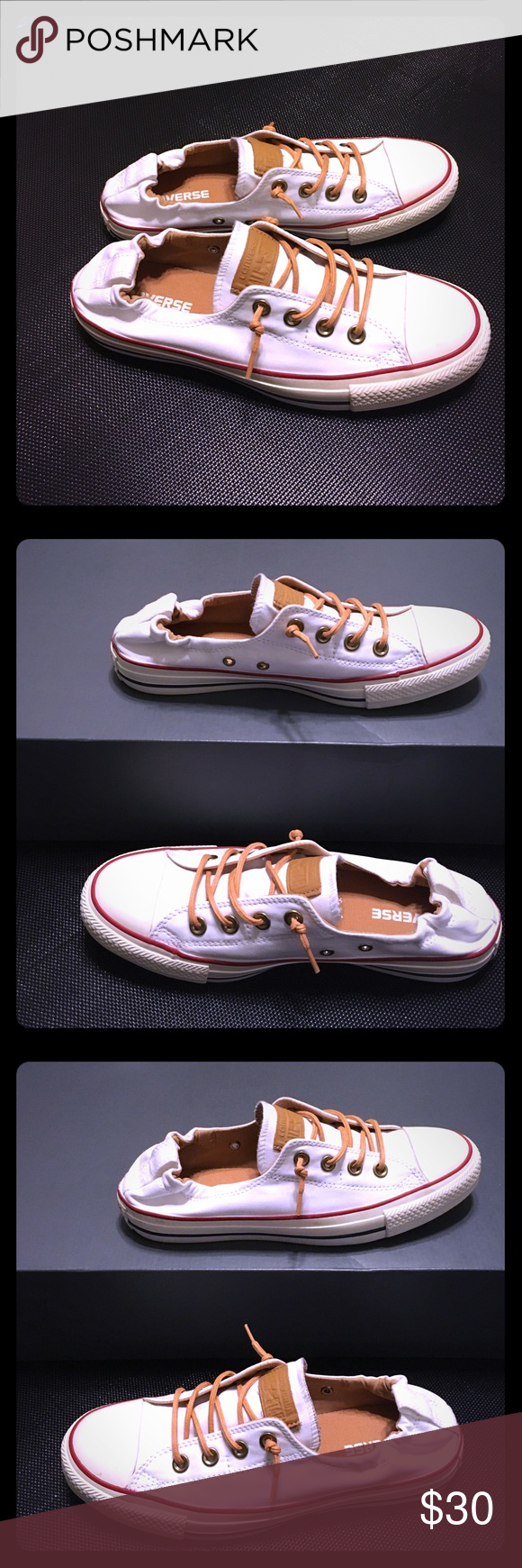 8c7ac83faf44 Converse Shoreline Sneakers Their full name is  Converse Chuck Taylor All  Star Peached Shoreline Low