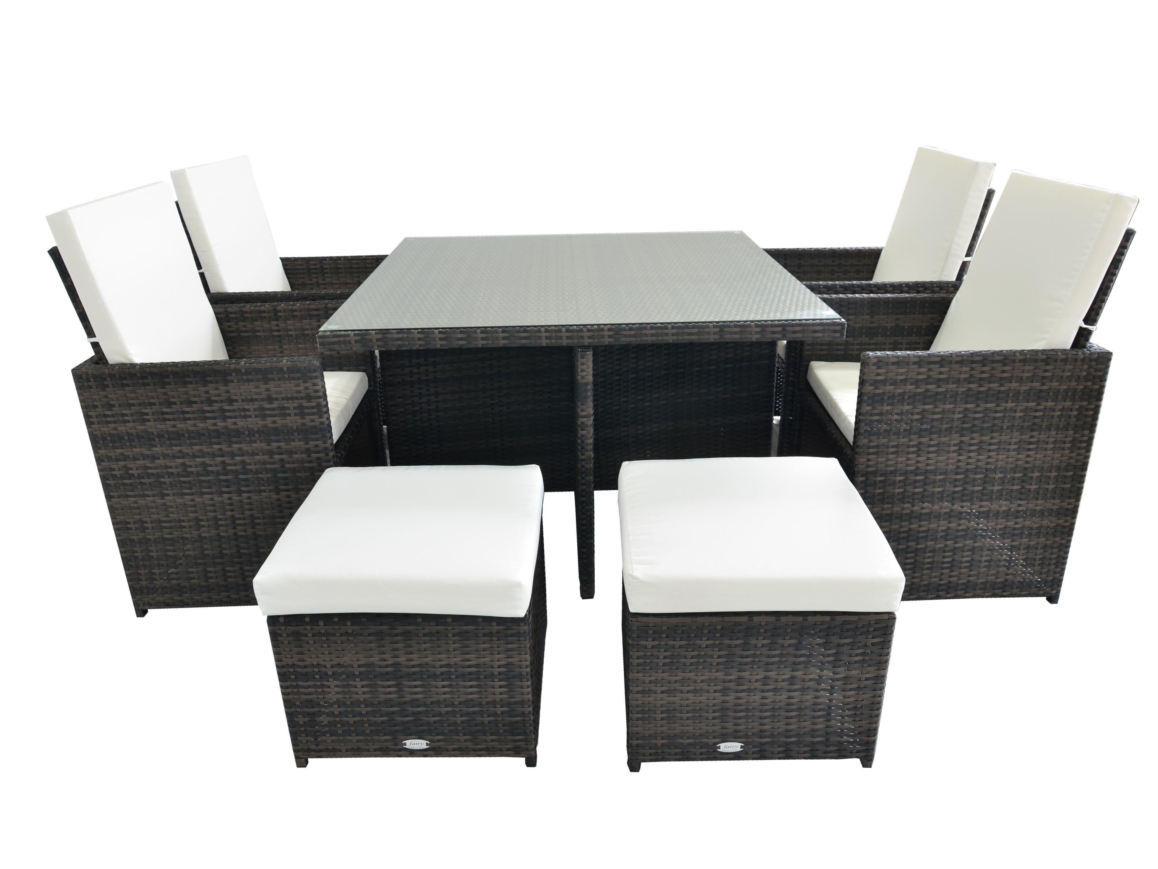 Pin On Rattan Garden Furniture Cube Sets