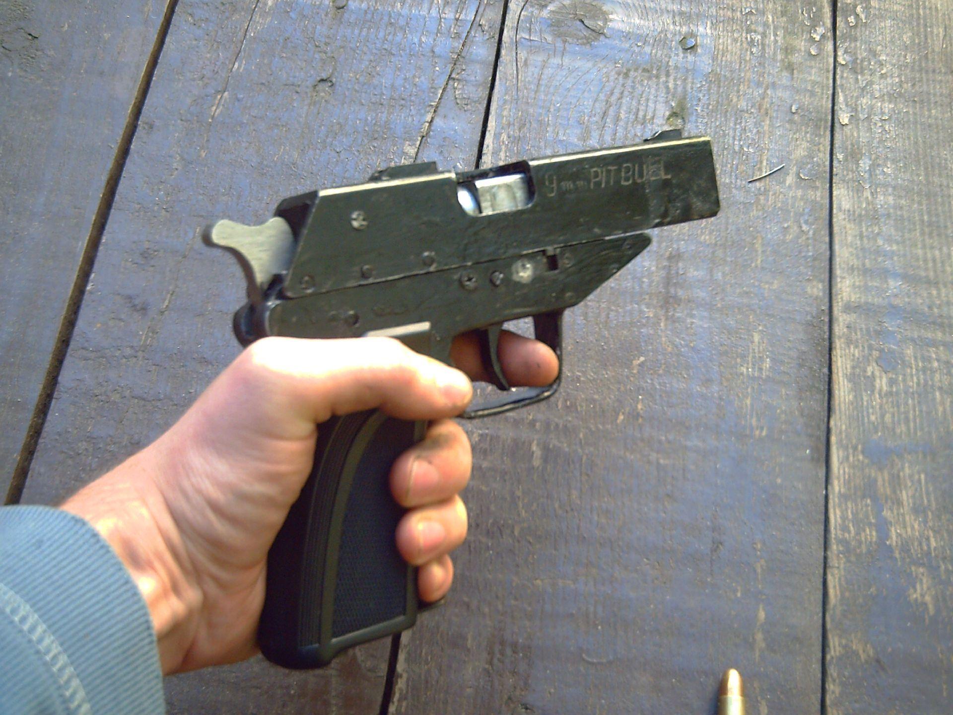 Weaponeer Forums Pitbull A 9mm Luger Homemade Handgun