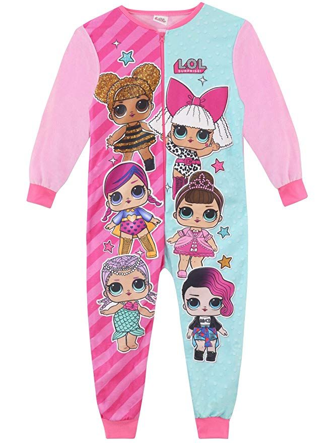 McWheat Girls Nightgown Pajama Cartoon Sleepwear Cute Sleep Shirts Night Dresses for Christmas Birthday Party Costumes