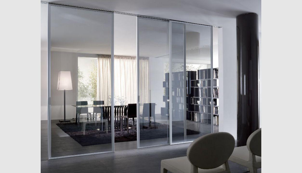 Sliding doors cristal by longhi roomdividerideascloset room