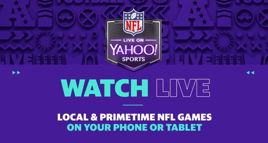 Live NFL Games Will Now Be Available For Free In Yahoo