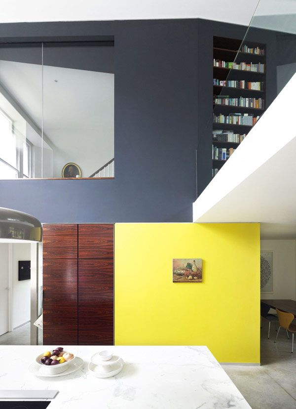 redesign and extension for a residence located in Islington, London - wohnzimmer modern eingerichtet