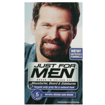 Just For Men Brush In Colour Gel Med Dark Brown M40 Facial Hair Colour 6 80 Free Uk Delivery Http W Just For Men Beard Just For Men Beard No Mustache