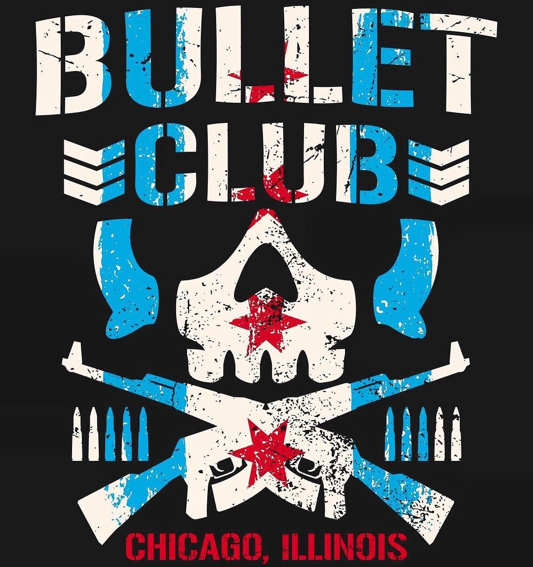 Bullet Club Official Bulletclub Official En Instagram Only Be Available In Chicago Prowrestlingtees Bulletclu Bullet Club Logo Clubs Chicago Wwe Logo