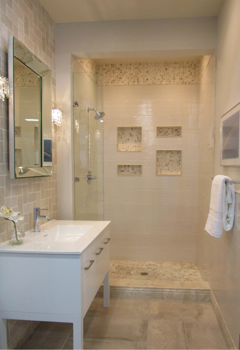 Serene Bathroom In Our New Tampa Showroom My Work Commercial - Bathroom remodel showroom