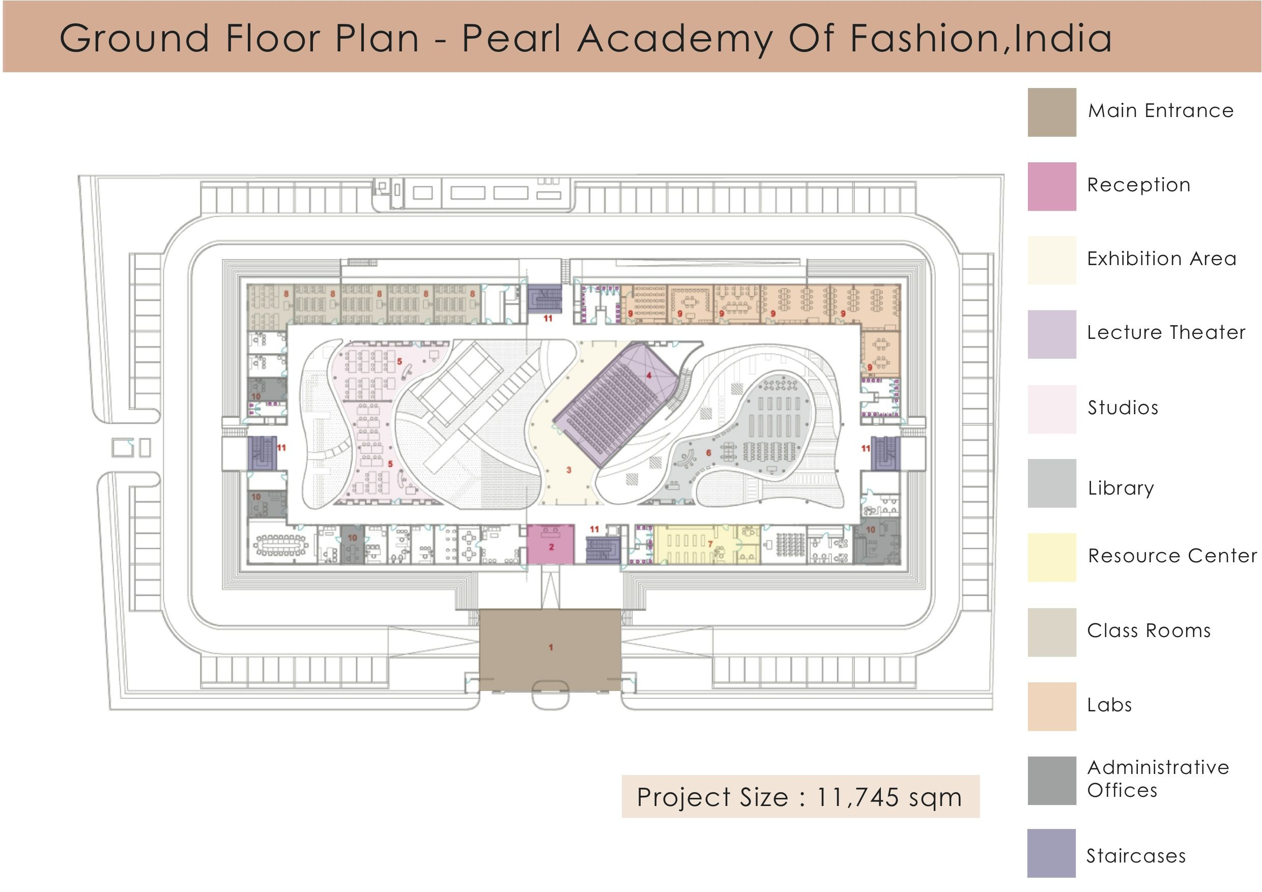 Floor Plan Pearl Academy Of Fashion Layout Design Home Layout Design Floor Plans