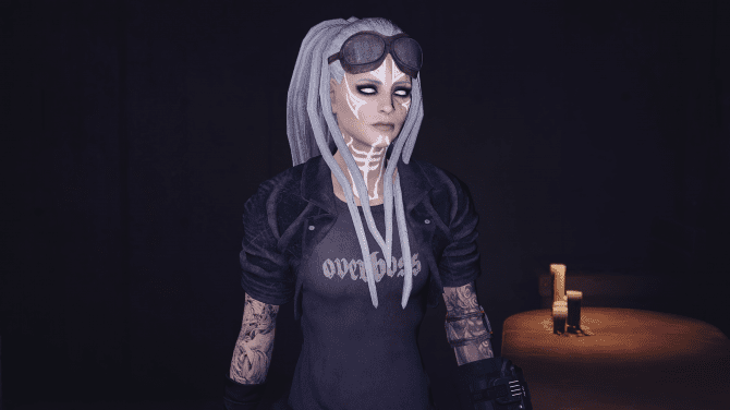 Simple hair mod  Adds the famous dreadlocks from Apachii Skyhair to