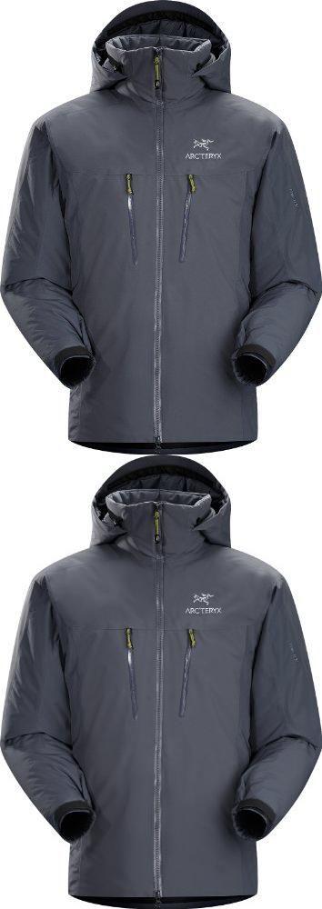 Arc'teryx Fission SV Jacket Men's Heron Medium Waterproof
