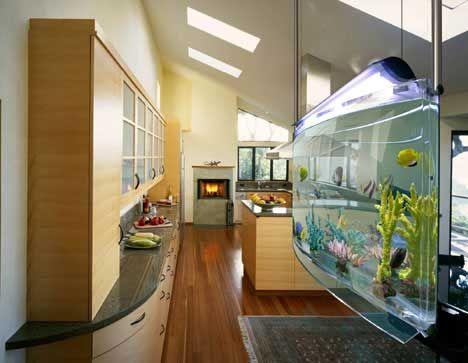 decorar con acuarios y peceras | aquariums, aquarium design and