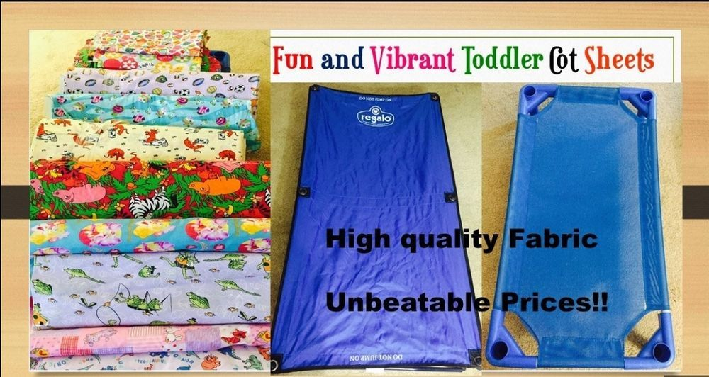 Toddler Cot Sheet Sets Standard Size For Daycare Preschool Camps