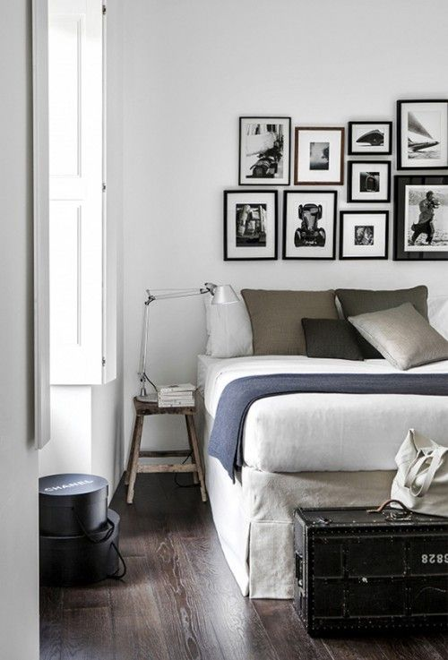 Industriële rustieke slaapkamer inspiratie | Koden\'s Room ...
