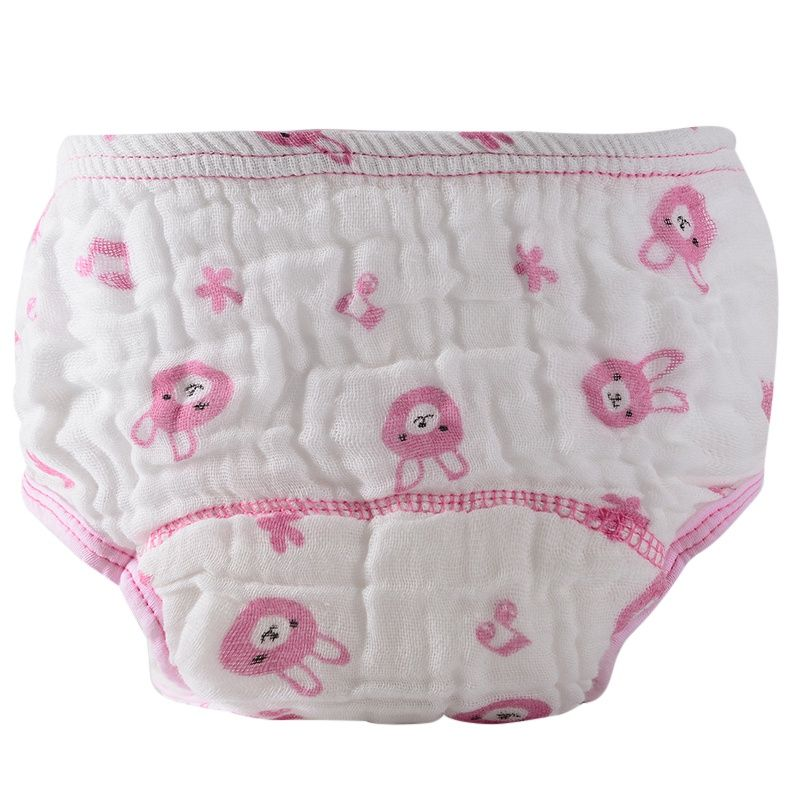 Baby Diapers Nappies Cloth Diaper Baby Cotton Training Panties Nappy Changing