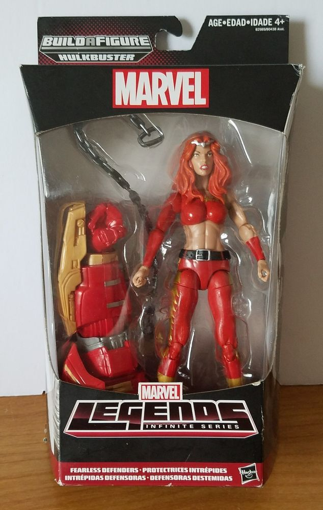 Marvel Legends Infinite Series Fearless Defenders Thundra /& BAF Hulkbuster
