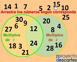 Actividades De Múltiplos Y Divisores Multiplos Y Divisores Actividades De Matematicas Actividades