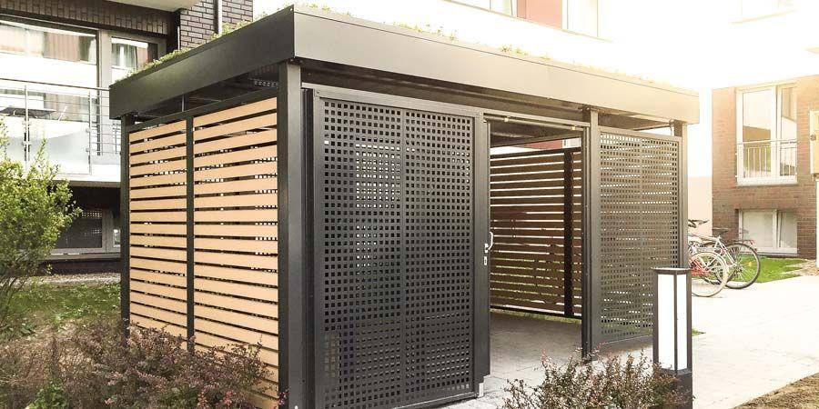 die einhausungen von siebau basieren auf dem bew hrten carport system ideal als unterstand f r. Black Bedroom Furniture Sets. Home Design Ideas