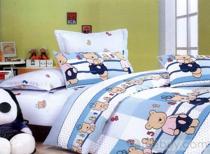 lindo oso de dibujos animados para nios de algodn consolador camas envo gratuito