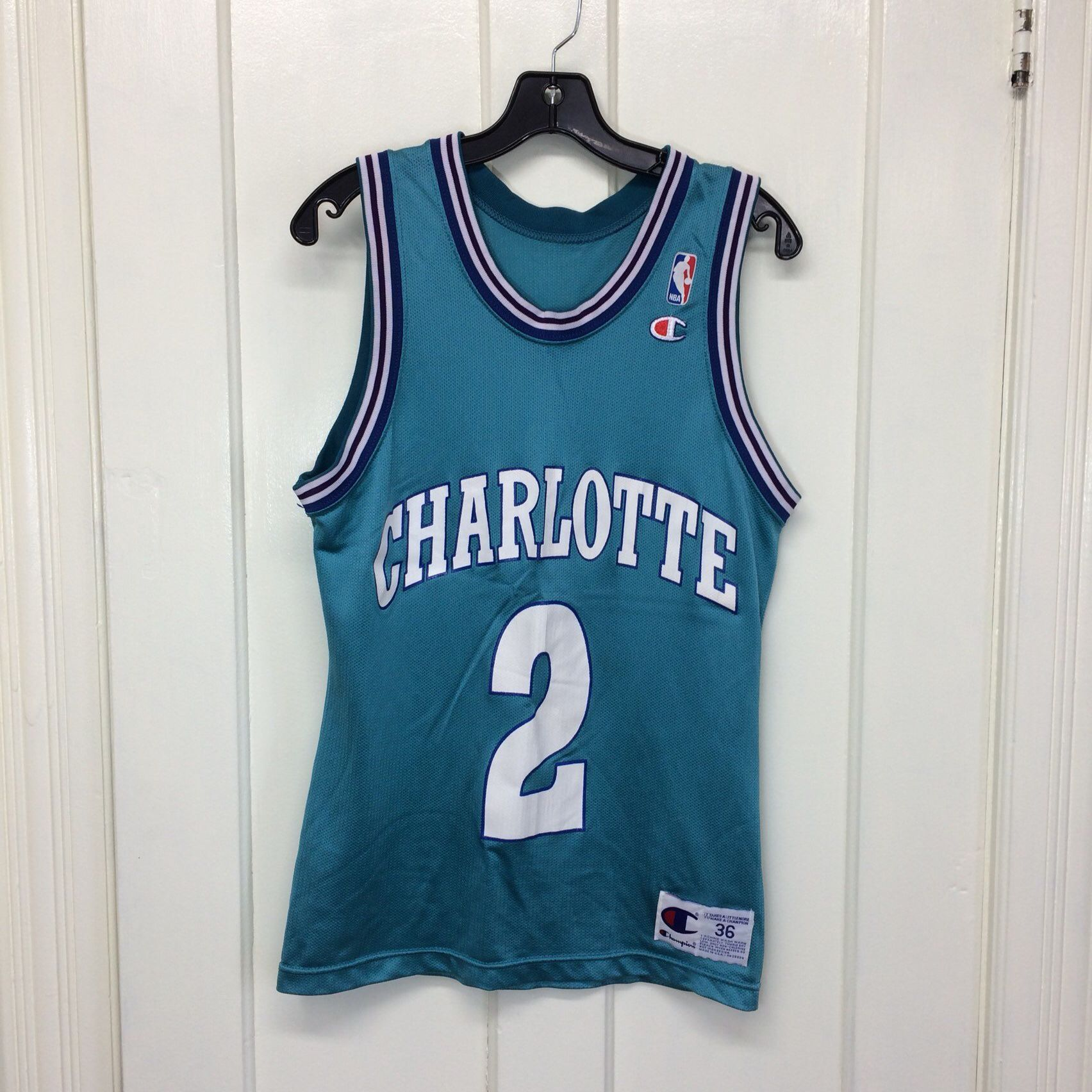 b1fa1d9cdc57 Excited to share the latest addition to my  etsy shop  1990s Charlotte  Hornets Larry