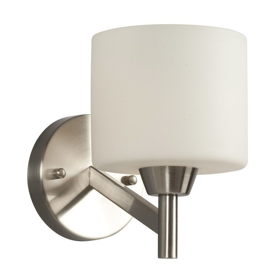 Galaxy drummond 5875 in w 1 light brushed nickel arm hardwired wall galaxy drummond 5875 in w 1 light brushed nickel arm hardwired wall sconce bathroom aloadofball Image collections