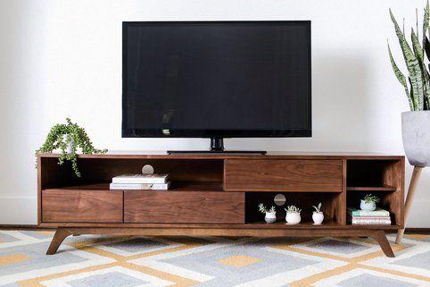 Edloefinch Monroe Tv Cabinet Tv Stand Decor Mid Century Modern